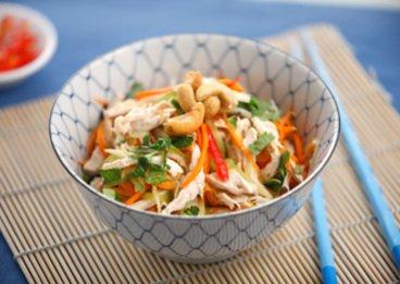 Salade de poulet la vietnamienne pour vous faire vivre - Zen la cuisine vietnamienne ...